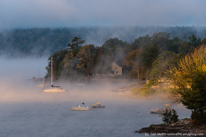 """""""First Light Over Thompson's Point"""""""