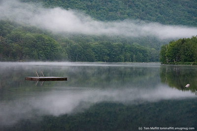 """""""Clearing for New Day,"""" Lake Mansfield Trout Club, Stowe, Vermont"""