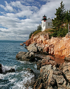 Bass Harbor Lighthouse, Bar Harbor Maine.