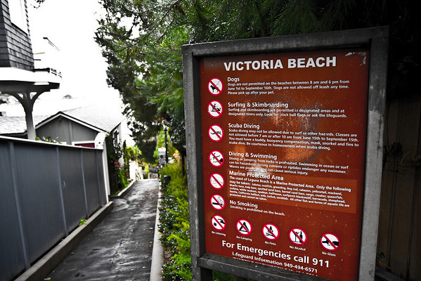 Victoria Beach in Laguna Beach