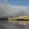 Fog rolling in to Victoria's Harbour