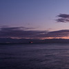 The lights of Port Angeles from Victoria's Breakwater.