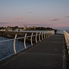 A September evening on the Breakwater.