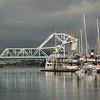 Blue Bridge Reflections
