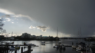 Stormy Weather - Victoria Harbour