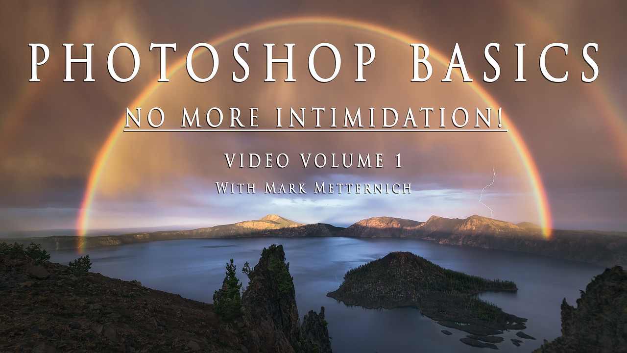 PHOTOSHOP BASICS - NO MORE INTIMIDATION! (Volume 1)