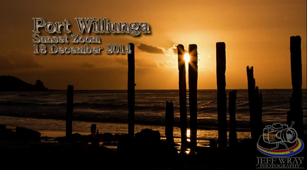 Sunset Port Willunga 18 Dec 2014