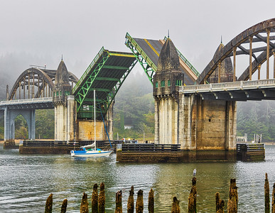 Siuslaw River Bridge, Oregon
