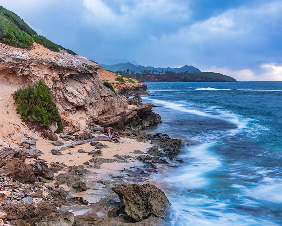Lithified Cliff, Kauai, Hawaii