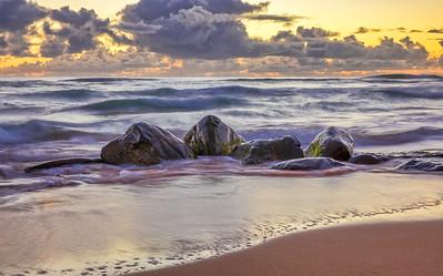 Nukoli'i Beach, Kauai, Hawaii