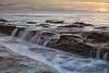 Labor Day sunset Whisper Sands Beach