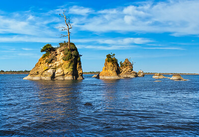 Crab Rocks on the Oregon Coast