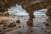 Under the arch, San Jose Del Cabo