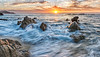 The Sea of Cortez at sunrise