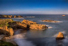 Big Sur coast, taken in the light of a full moon