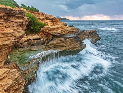 Lithified Cliffs, Kauai, Hawaii