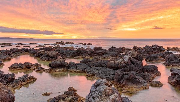Sunset at Waikoloa Beach, Hawaii