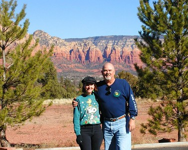 Views from our Sedona, AZ timeshare