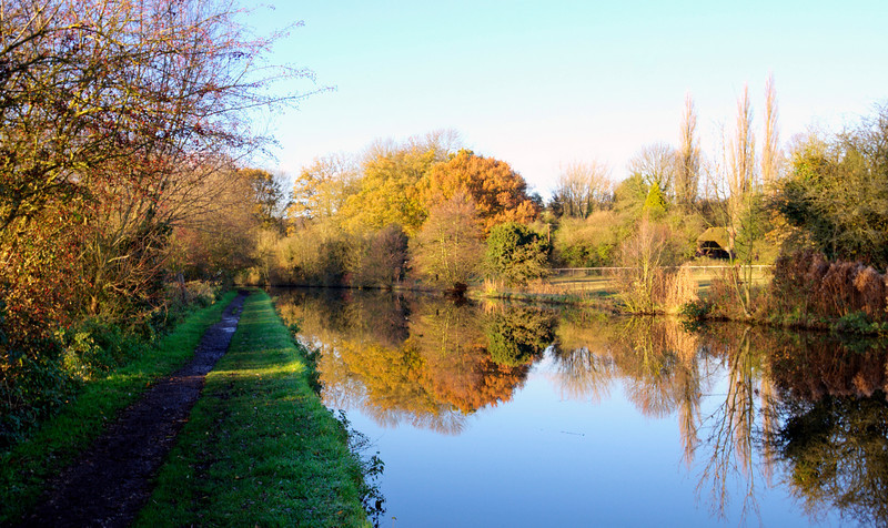 The Grand Union Canal in Autumn