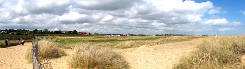 Walberswick on the Suffolk coast.