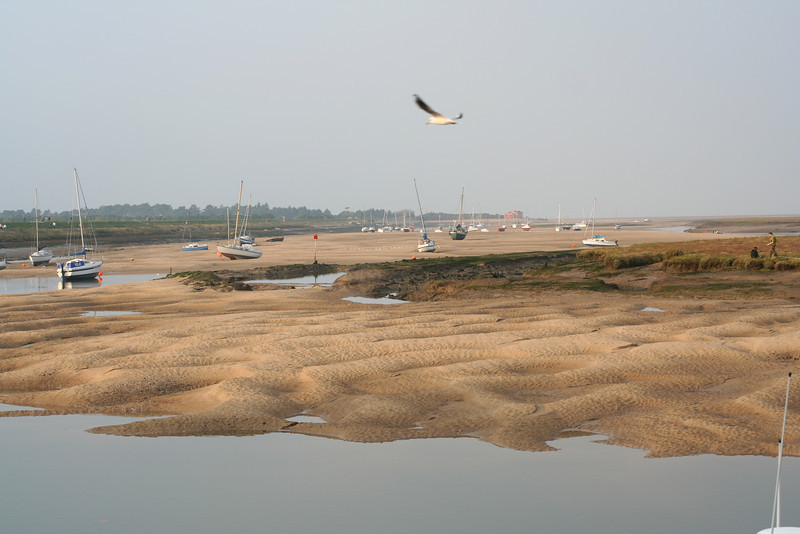 Mudflats at Wells-next-the sea, Norfolk.