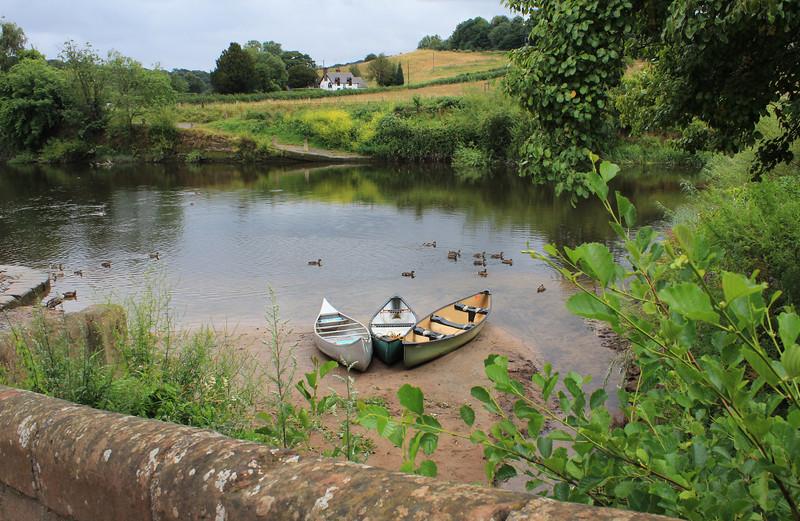 The River Severn at Upper Arley.