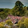 Turville, a small village set in a steep valley high in the Chiltern Hills in Oxfordshire.