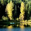 Trillium Lake afternoon sun