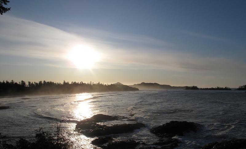 Sunrise in Tofino BC