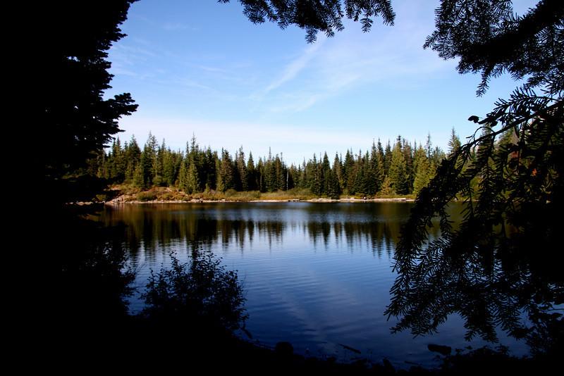 Mirror Lake near Mt Hood