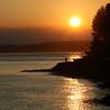 Northwest Seattle, Washington sunset