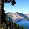 The blue of Crater Lake on a warm summer's day!