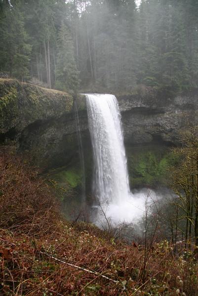 """Silver Falls Oregon<br /> """"Misty falls"""""""