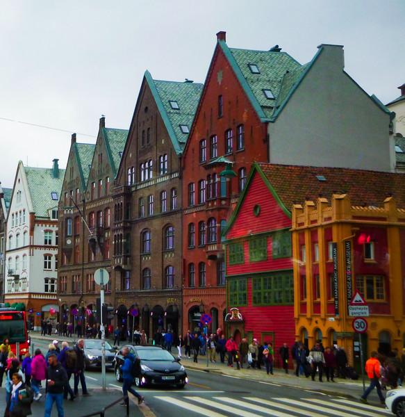 Bergen Streetscape