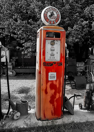 Frontier Gas Pump