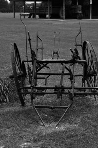 Farm Equipment B&W