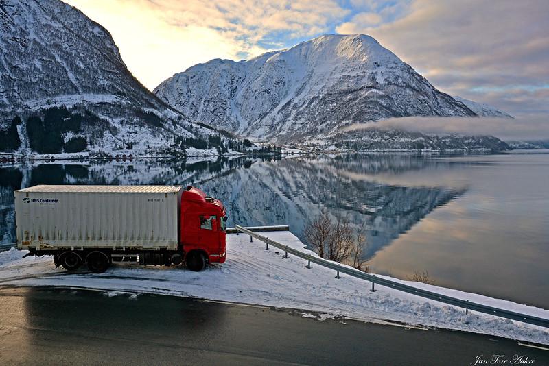 Vinterstemning i Hardanger