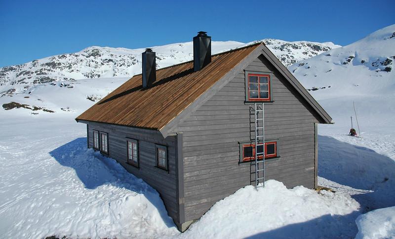Vending DNT hytte Mellom Kvamskogen og Hamlagrø