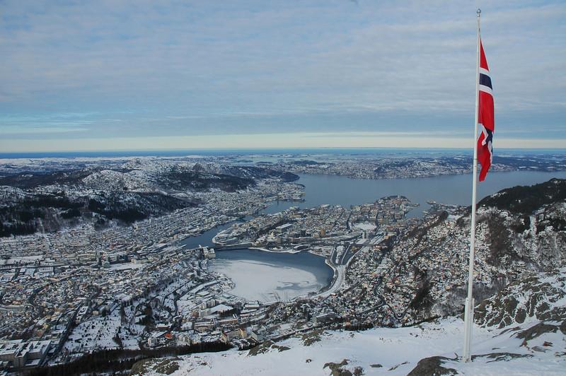 Bergen fra Ulriken