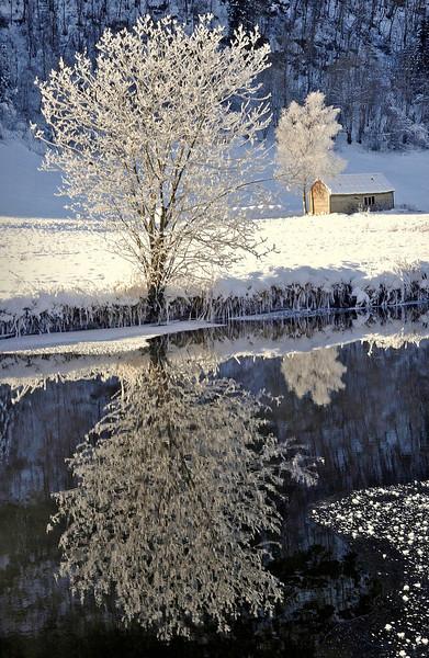 Fra Eide i Hålandsdalen<br /> <br /> Winter photo from Hålandsdalen