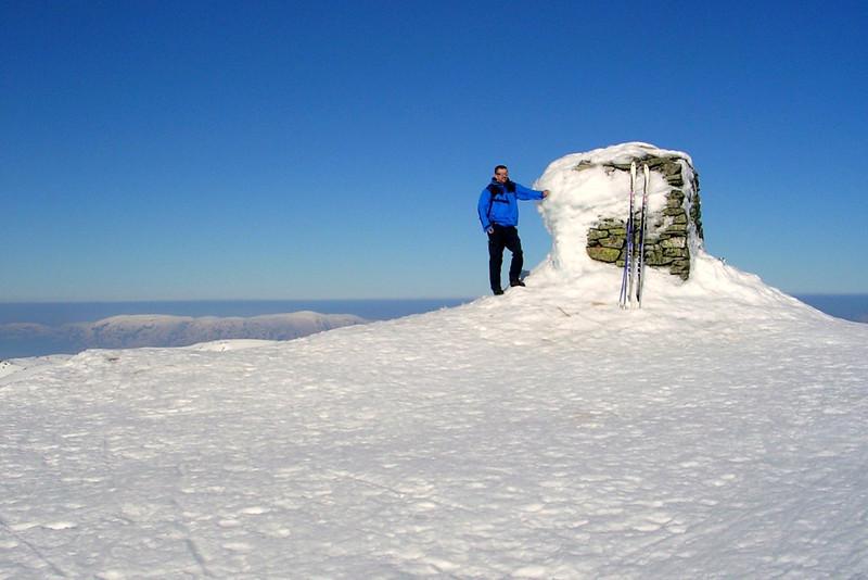 Tveitakvitingen 1299 m.o.h.,høgaste topp i Fusa kommune