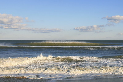 Winter waves, Northend Va. Beach