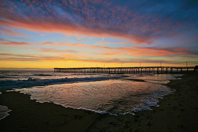 VB Pier Sunrise1 . Now on display @ the Beach Pub