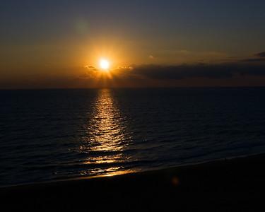 October Sunrise in Virginia Beach, VA