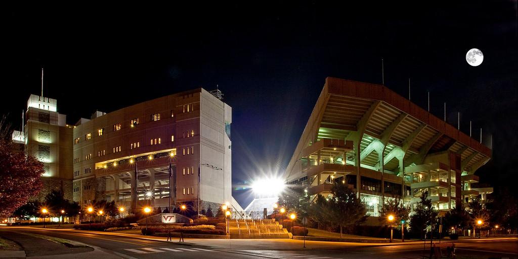 Lane Stadium at Virginia Tech.