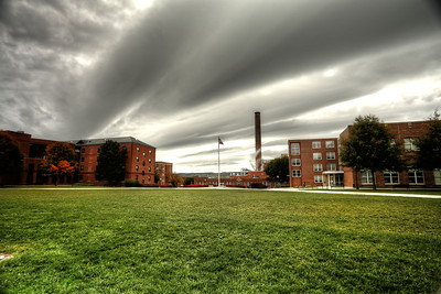 Clouds Over Upper Quad