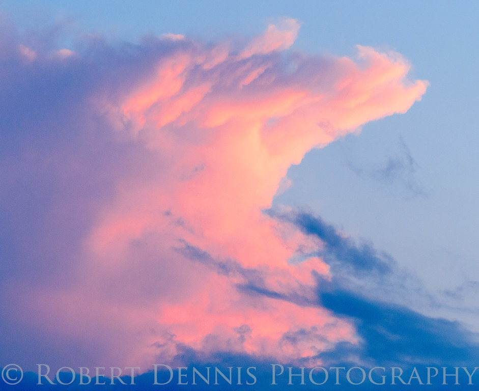Storm Clouds photographed from a rest area in North Carolina