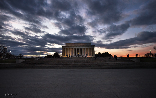 Lincoln Memorial (my fave of the night)