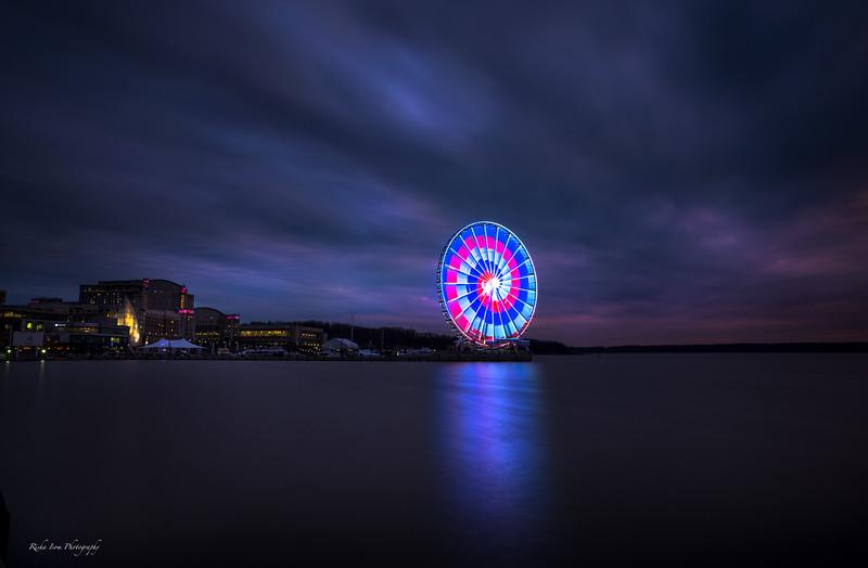 The Capital Wheel- Blue Hour