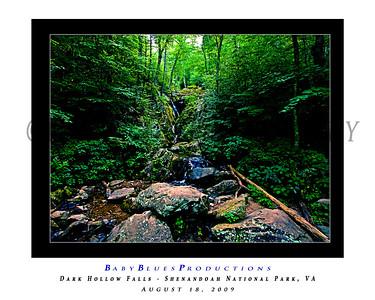 Dark Hollow Falls - 18 Aug 2009